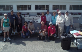 Old Stone Dock Association Beach Cleanup