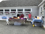 OSDA Membership Promotion Table at Beach Cleanup, Saturday, 06/02/18