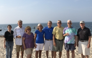 Karen Rinaldo, Jack Driscoll, Anne Prior, Polly Thayer, Jay Thayer, Steve Saunders, Mike Herlihy, Kevin Doyle