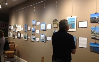 Opening Reception at Falmouth Art Center with Falmouth High School Students Art & Prose