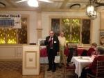 OSD President Kevin Doyle and Don Hoffer, Retiring Beach Superintendent