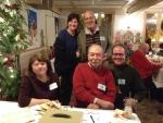 Seated - L to R Cindy & Bob Lehtinen, Dan Braun; Standing - Eva Braun & Jim Fox