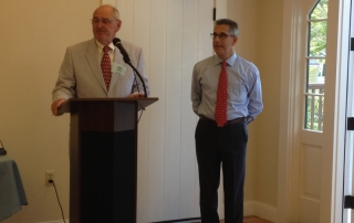 OSDA President Kevin Doyle and Michael Kasparian, President & CEO of Falmouth Chamber of Commerce