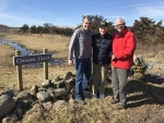 02-2018 Jay Thayer, Jim Crossen and Paul Smith at Crossen Creek