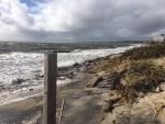 Kevin Doyle Surf Drive Beach Erosion 10-30-17 Mill Rd 2 IMG_1755