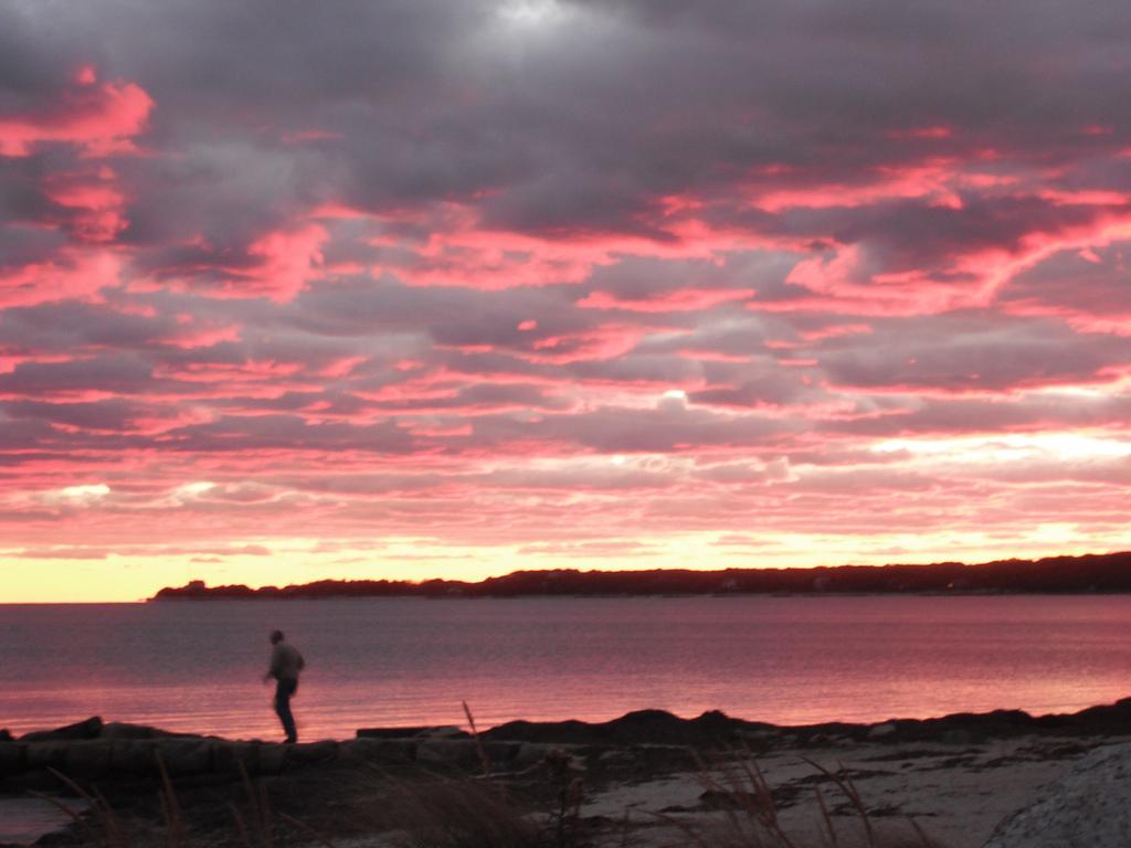 Falmouth Beach Sunset Cape Cod, MA