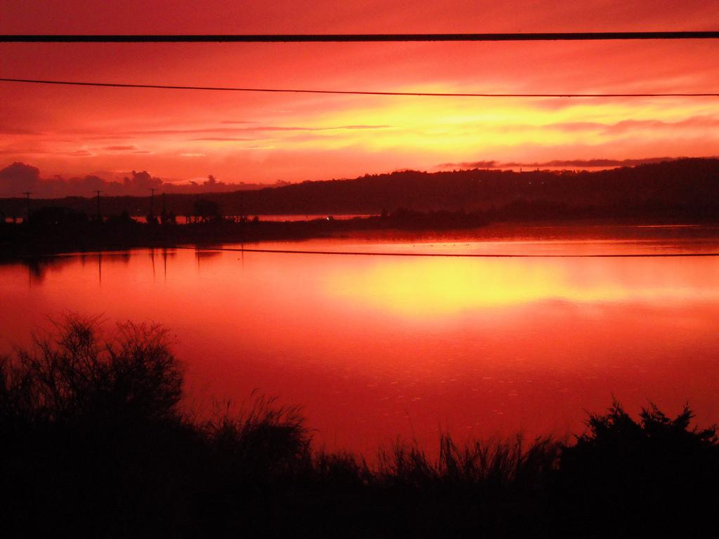 Sunset Falmouth Beach Cape Cod