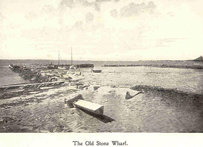 Old Stone Wharf, Falmouth, Mass